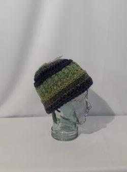Mütze gestrickt, normale Form